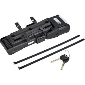 ABUS Bordo Alarm 6000A Big Antivol pliable 120cm SH 6000/120, black